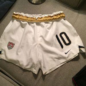 Nike Carli Lloyd Jersey  Soccer Shorts USA uswnt